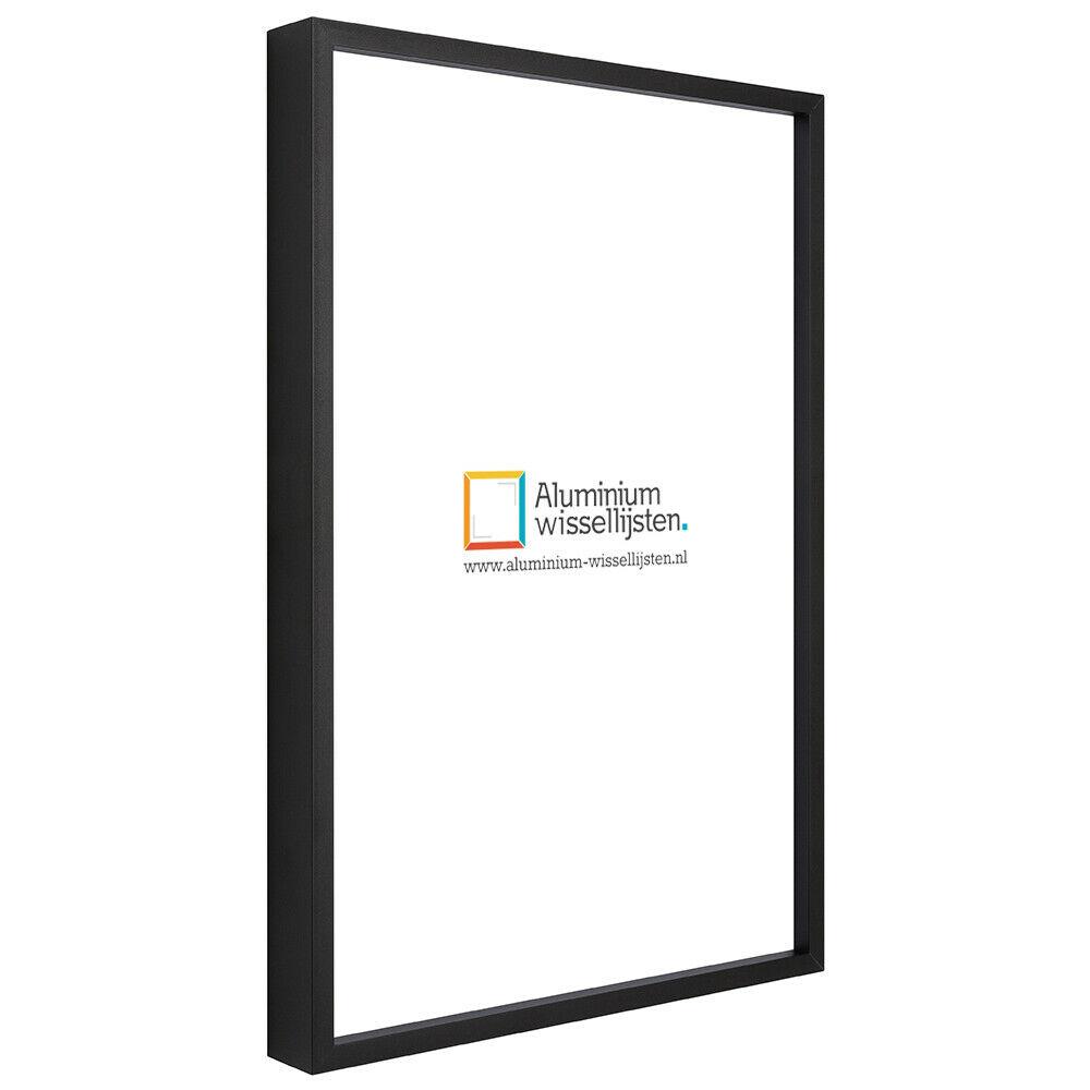 Alpha geanodiseerd mat zwart-70x100